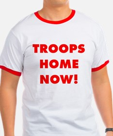 Troops Home Now! T (Red)<a name=W>&nbsp</a>