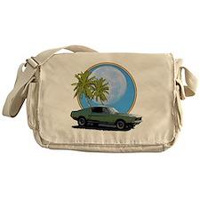 67 mustang moon Messenger Bag