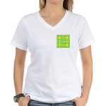 Dutch Gold And Yellow Women's V-Neck T-Shirt