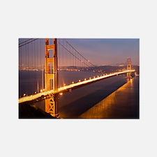 6x4_Postcard_nightGGB1229 Rectangle Magnet