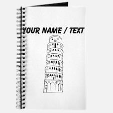 Custom Leaning Tower Of Pisa Journal