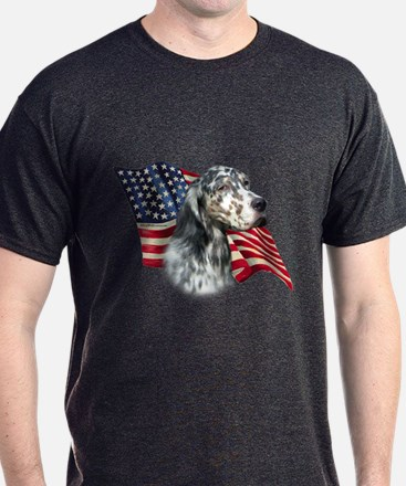 English Setter Flag T-Shirt