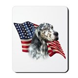 English setter Mouse Pads