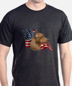 German Pinscher Flag T-Shirt