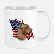 German Pinscher Flag Mug