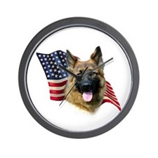 GSD Flag Wall Clock