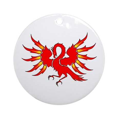 Phoenix Ornament (Round)