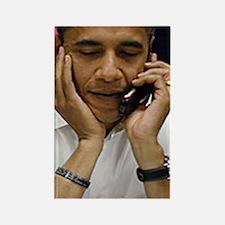 ART Obama iphone 3g v2 Rectangle Magnet