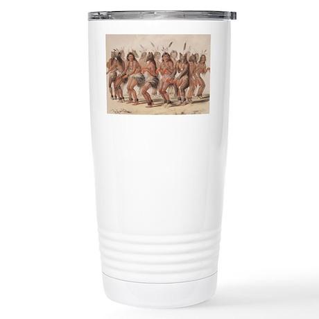 The Bear Dance Stainless Steel Travel Mug