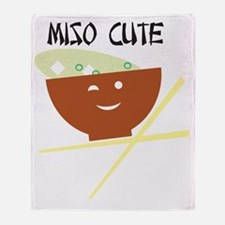 miso_Page 1 Throw Blanket