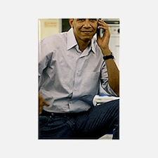 ART Obama iphone 3g v1 Rectangle Magnet
