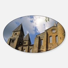 France: Conques, Benedictine Abbey  Decal