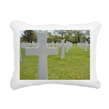 Brothers killed on D-Day Rectangular Canvas Pillow