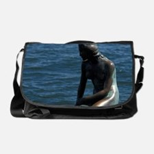 DENMARK, Copenhagen Little Mermaid Messenger Bag