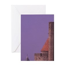 FRANCE, Languedoc Carcassonne Greeting Card