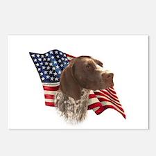 GSP Flag Postcards (Package of 8)