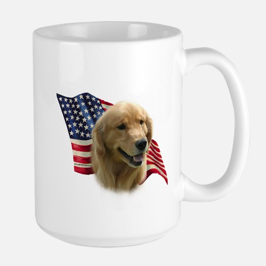 Golden Flag Large Mug