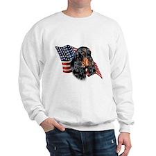 Gordon Setter Flag Sweatshirt