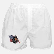 Gordon Setter Flag Boxer Shorts