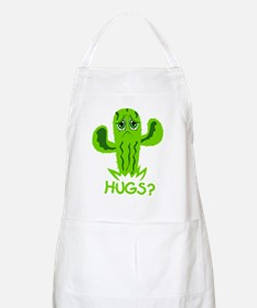 Cactus Wants Hugs blk Apron