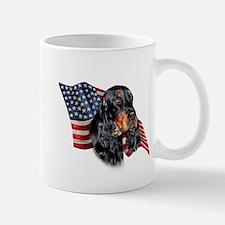 Gordon Setter Flag Mug