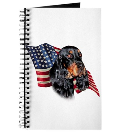 Gordon Setter Flag Journal
