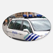 City police vehicle at Bruges in th Decal