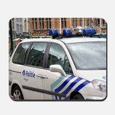 City police vehicle at Bruges in the pro Mousepad