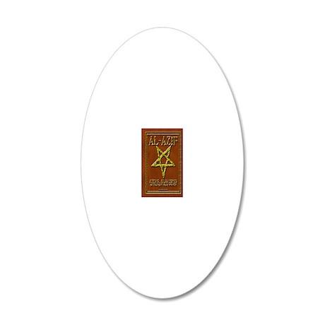Al-AzifJournal 20x12 Oval Wall Decal