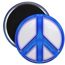 peaceGlowBlue Magnet