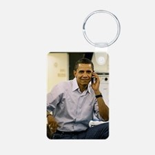ART obama iphone slider 4  Keychains