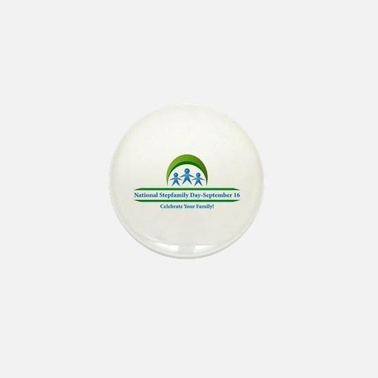 Cute Stepfamilies Mini Button