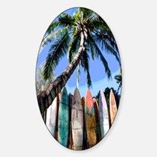 Island Boards Sticker (Oval)