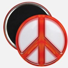 peaceGlowRed Magnet