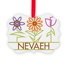 NEVAEH-cute-flowers Ornament