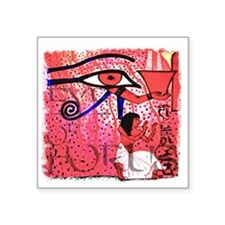 "Eye of Horus Square Sticker 3"" x 3"""