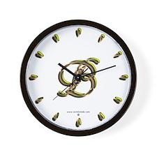 Phyllis Initial B Wall Clock