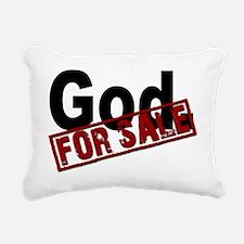 GOD FOR SALEmousepadwht Rectangular Canvas Pillow