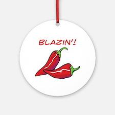 Blazin'! Ornament (Round)