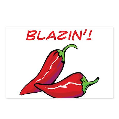 Blazin'! Postcards (Package of 8)