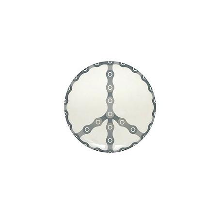 peace chain drk Mini Button