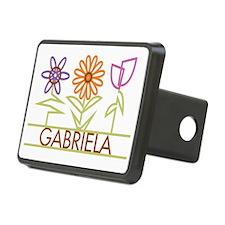 GABRIELA-cute-flowers Hitch Cover