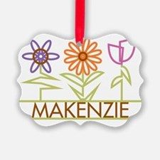 MAKENZIE-cute-flowers Ornament