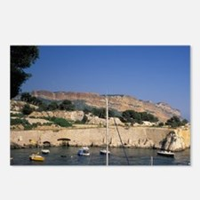 Calanque de Port-Miou and Postcards (Package of 8)