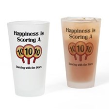 Happiness10 Drinking Glass