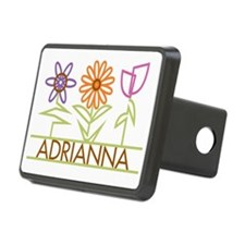 ADRIANNA-cute-flowers Hitch Cover