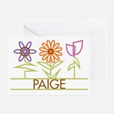 PAIGE-cute-flowers Greeting Card
