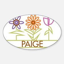 PAIGE-cute-flowers Decal