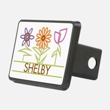 SHELBY-cute-flowers Hitch Cover