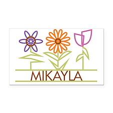 MIKAYLA-cute-flowers Rectangle Car Magnet